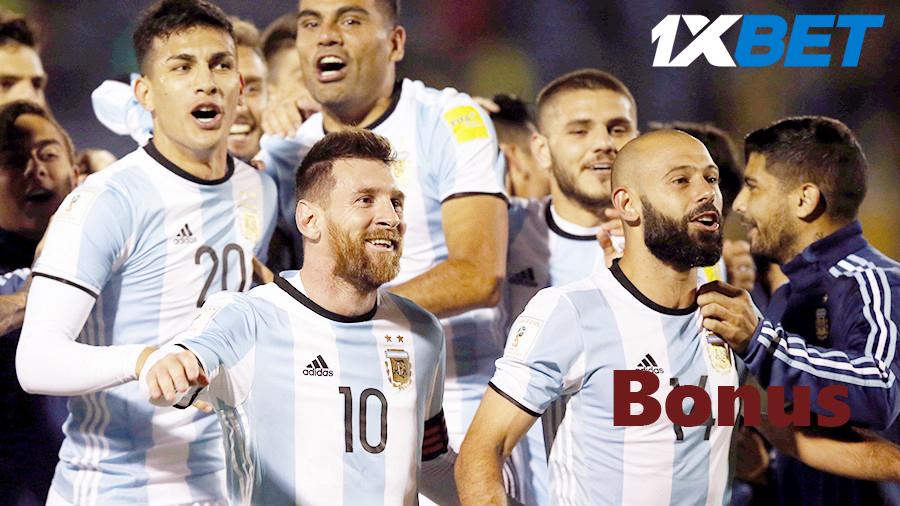 1xBet bono bienvenida de casa de apuestas en Argentina